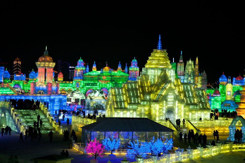 Harbin Ice and Snow Festival Revolutionary Tour