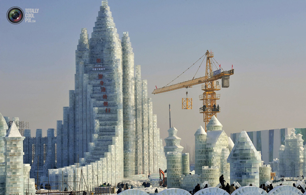 Harbin Ice And Snow Festival Revolutionary Tour